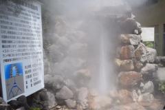In geyser in azione