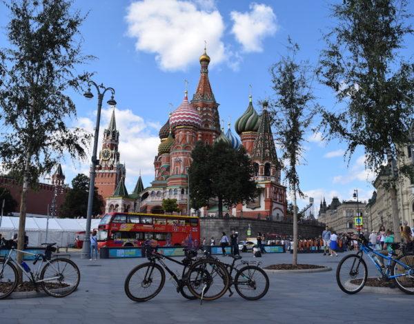 L'arrivo a Mosca