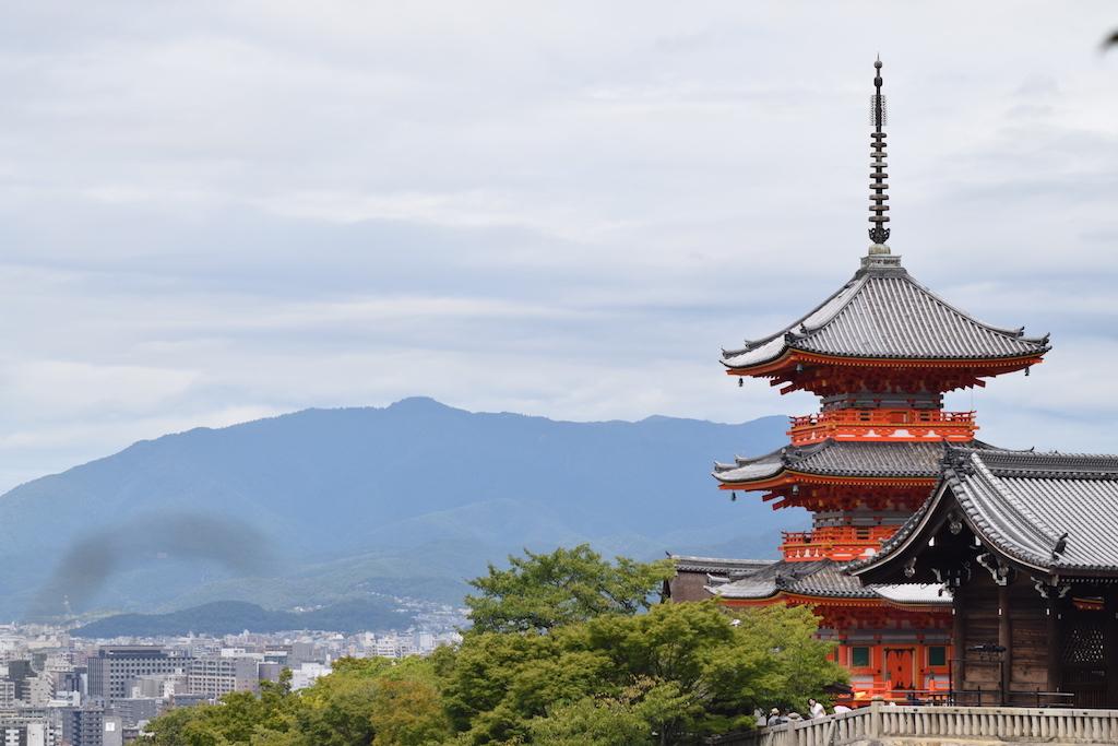 Kiyomizu-dera - la pagoda grande