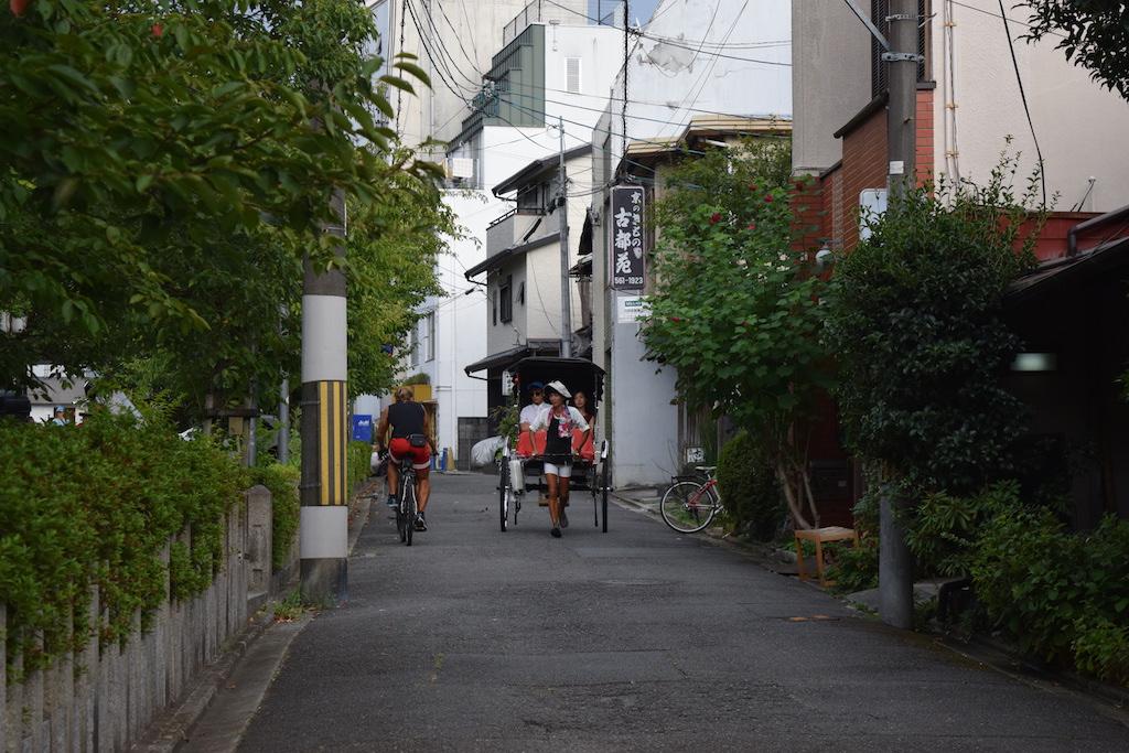 La bici e il risciò