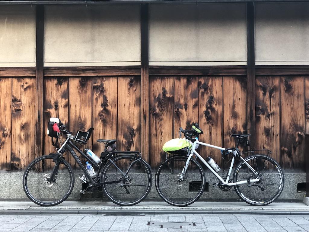 Bici a Gion