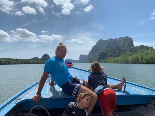 Verso l'isola