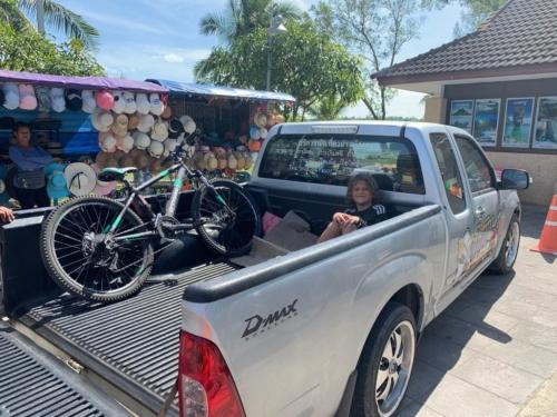 Un pick-up caricon di Miche
