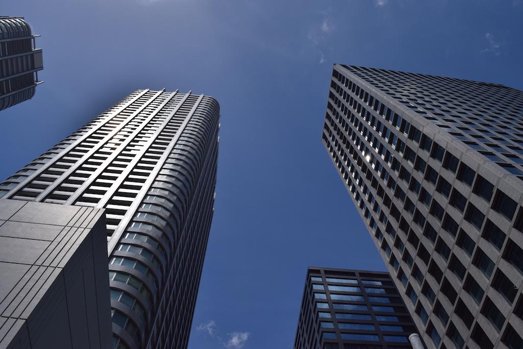 Grattacieli di Tokyo