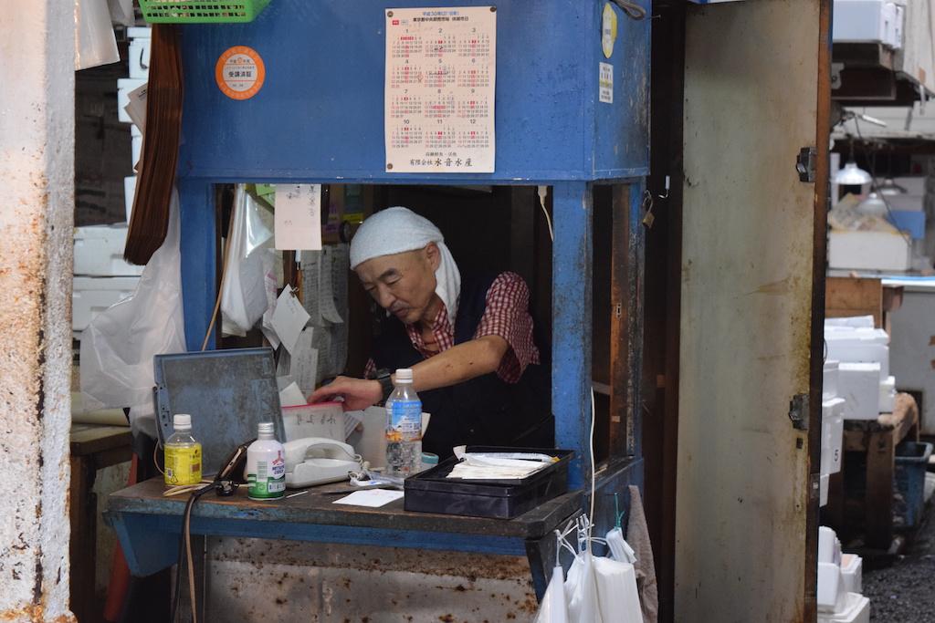 Tsukiji: al lavoro