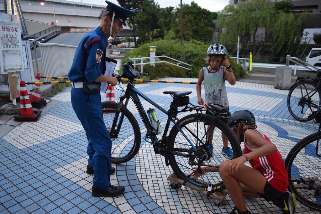 Un pattino per le bici