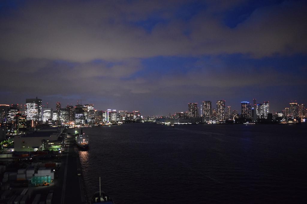 Vista dal Rainbow bridge