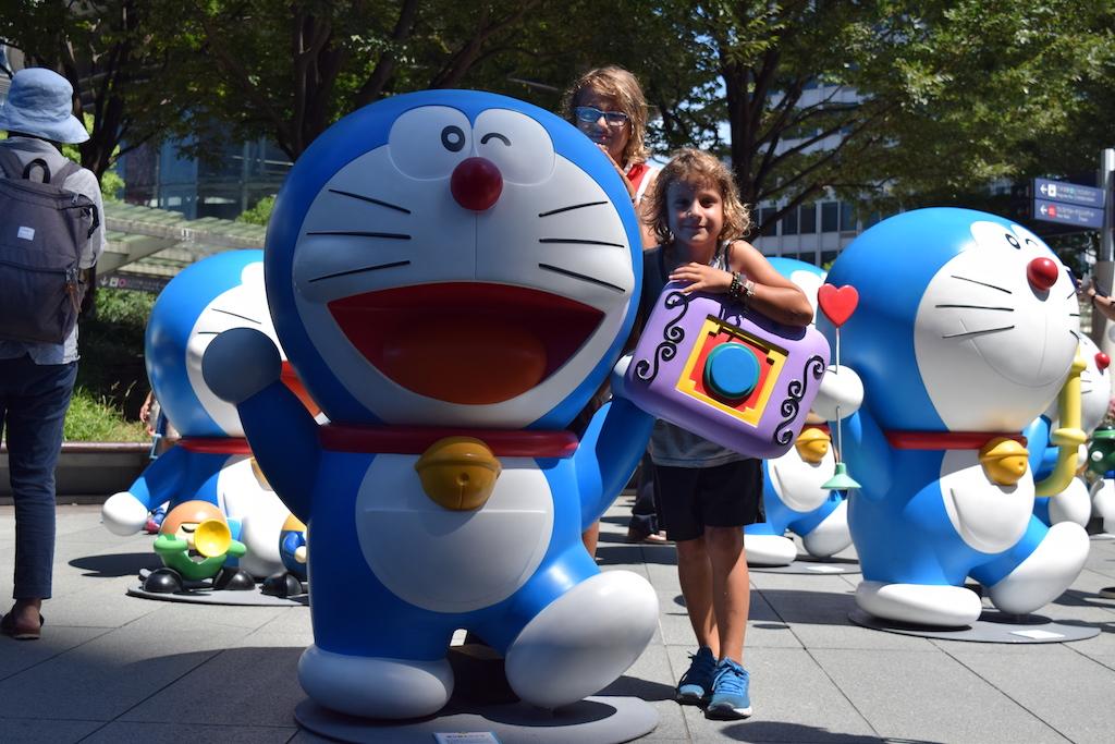 Doraemon a Rappongi Hill