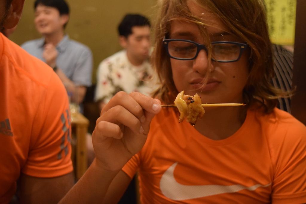 Spiedini di cartilagine di pollo
