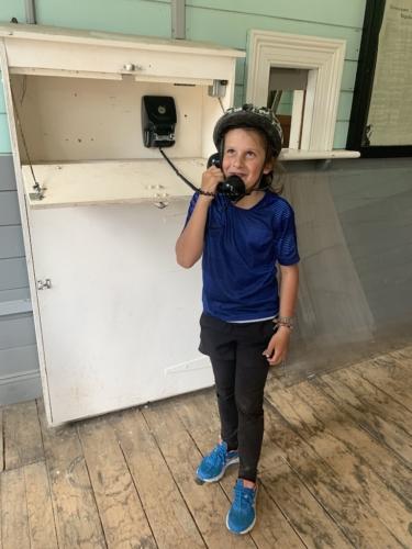 Il telefono della stazione