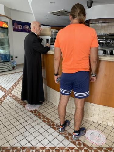 Caffè con il prete