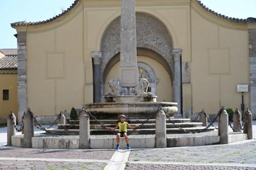 Piazza centrale di Benevento