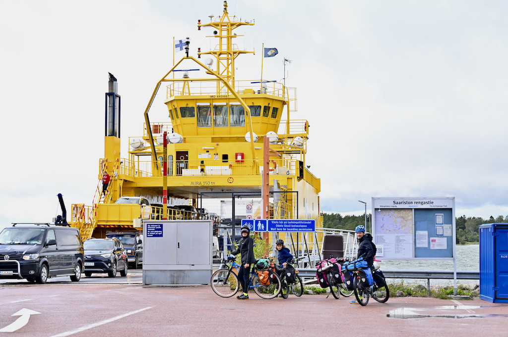 Inizia l'archipelago trail